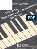 Historia Compositores y Repertorio de Piano