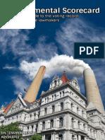 Environmental Scorecard 2013