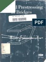 External Prestressing in Bridges