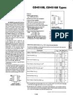 CMOS Presettable Up-down Counter Datasheet