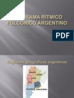 PANORAMA RÍTMICO FOLCÓRICO ARGENTINO