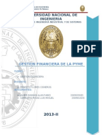 tarea GESTION FINANCIERA