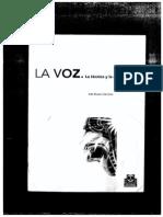 La voz, la técnica y la expresión - BUSTOS, Inés.