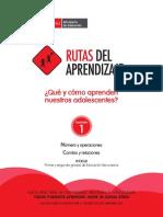 Fasciculo Secundaria Matematica VI_Rutas Del Aprendizaje