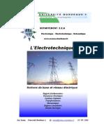 notion de base et réseaux électriques ( électrotechnique)