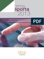 Informe Reporta 2013