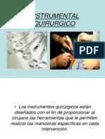 instrumental quirúrgico básico