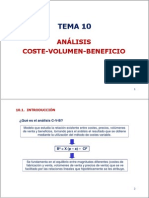 Tema 10 an Lisis Coste-Volumen-beneficio