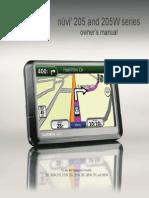 Manual Garmin 365W