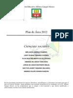 Plan de Area Sociales 2012