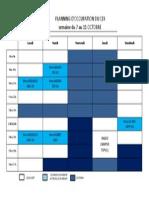 Planning CDI Semaine42