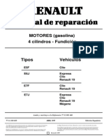 Manual de motor Renault 1.4 (Clio, R19 etc).pdf