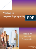 Guidelines to an Effective Presentation Final