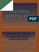 PRESENTACIÓN EN POWER POINT DEL SISTEMA RENTAL POS
