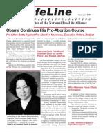 LifeLine Newsletter - Summer 2009 [National Pro-Life Alliance]