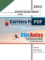 8891 APOSTILA Conhecimentos Bancarios - CAIXA - Professor Edson Martins