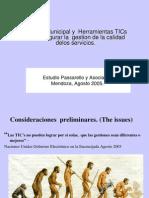 Mendoza Modelo Gestion TICs en Municipios