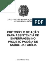 Protocolo Enfermagem Saude da Família Prefeitura de Campinas
