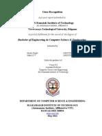GeneRecognition Report