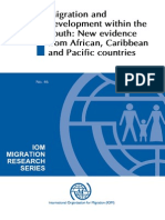 Migration and  development within the  South