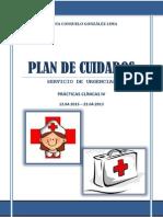 Plan de Cuidados Urgencias