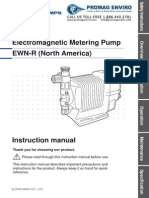 Walchem Pump EWN-R Series Manual
