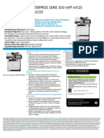 HP LaserJet Enterprise MFP M525 Series
