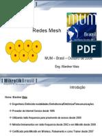 Redes Mesh Brasil 2008 Maia