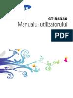 Manual de Utilizare Samsung Gt-b5330