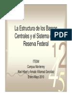 Estructura de Bancos Centrales