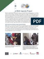 Saving Lives at Birth Uganda Project