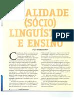 Textos Diversos Leitura Escrita Sociolinguistica