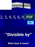 divisabilityrules