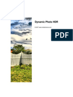 Dynamic Photo HDR