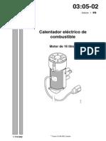 Calentador Electrico Combustible