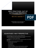 Best Practices of Pre-Pregs