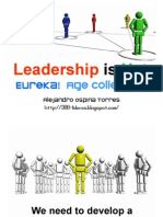Leadership is Net - Eureka! Age collective