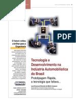 Desenvolvimento de projetos no Brasil