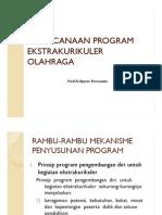 3 Perencanaan Program Ekstrakurikuler Olahraga