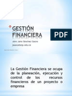 GESTIÓN FINANCIERA