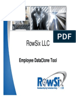RowSix Employee Data Clone Tool