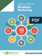 Using SEO in eBook Metadata Marketing