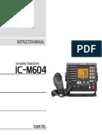 IC M604 Manual