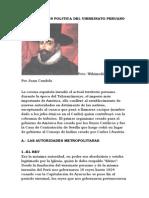 Organizacion Politica Del Virreinato Peruano