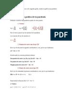 Son funciones polinómicas es de segundo grado
