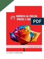 CRÔNICAS DE PAIXÃO POESIA E SAUDADE- textos-05-10-2013
