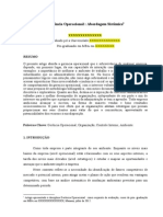 Darmison Artigo Paper MBA 2012