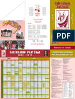 Calendar i o Pastoral