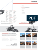 Mining Product Catalogue