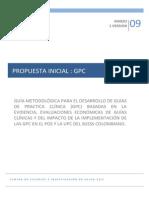 Guias de Practica Clinica Basadas en MBE - En Evaluacion